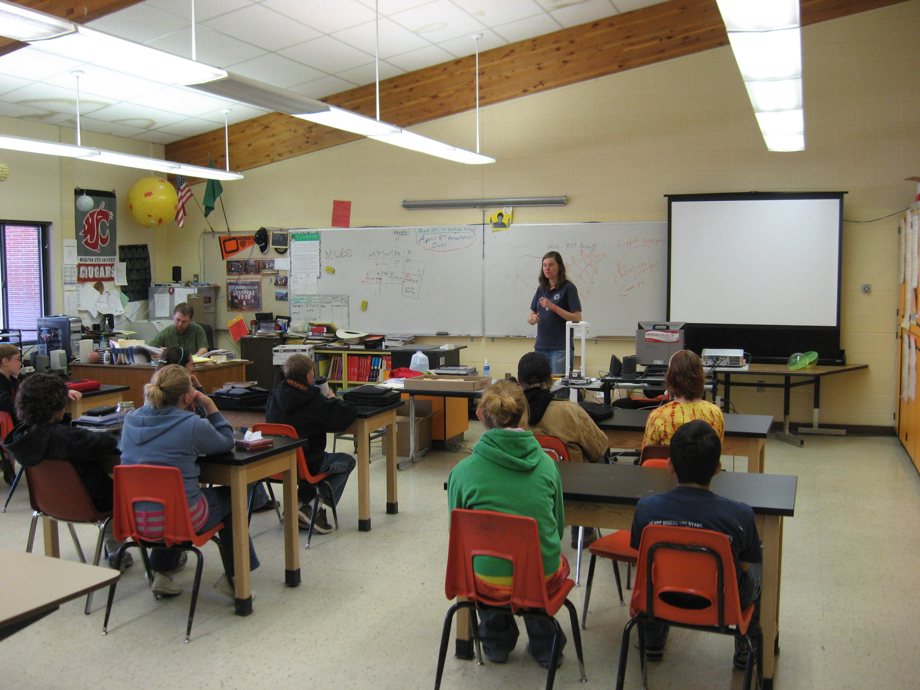Class Room Presentation
